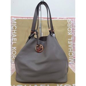Michael Kors Colgate Reversible Grab Bag, Gray